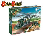 Stavebnice BanBao Vrtulník záchranářský 263ks + 4 figurky