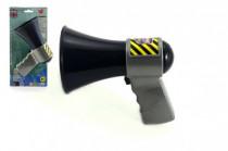 Megafón polícia plast 14cm