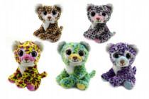 Leopard zvieratko plyš 18cm - mix variantov či farieb