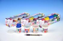 Plastelína / Plastelína 4ks - mix variantov či farieb