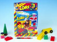 Stavebnice LORI 3 plast