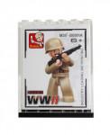 Figúrka vojaci WWII + zberateľská krabička