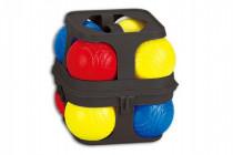 Petanque gule hra plast 8ks v plastovom kufríku