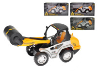 Stavební vozidlo 20 cm na setrvačník - mix variant či barev