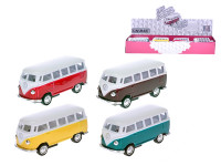 VW Classic autobus 1962 1:64 kov spätný chod - mix farieb