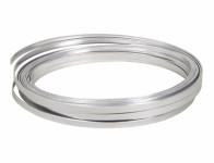 Drôt dekoračné hliníkový strieborný 10m 5mm