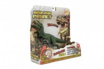 Dinosaurus plast 26cm na batérie so zvukom so svetlom 2 druhy