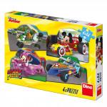 WD Mickey a Minnie na pretekoch 4x54D