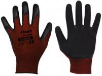 rukavice FLASH GRIP latex 8
