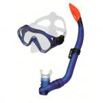 Spokey CAYMAN JUNIOR Sada brýle+šnorchl modrá