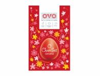 Set na vajíčka OVO SET farba, obtlačky a košieľky červená