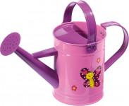 Detská konvička kovová ružová Stocker