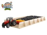 Silo drevené 60x30x6 cm 1:32