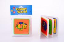 Měkká knížka pro nejmenší  - šťastný svět