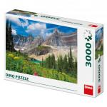 Puzzle 3000 dílků: Ledovce v Montaně
