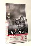 Purina ProPlan Cat Delicate s morčacím mäsom 1,5 kg