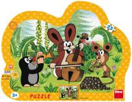 Puzzle 25 dielikov kont.Krtek muzikant