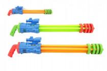 Vodné pištole trubice plast 67cm - mix farieb