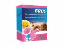Bros - el. odparovač pre deti proti komárom + 10 vankúšikov