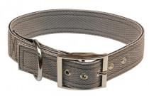 Obojok nylon šedý B & F 4,0 x 60 cm