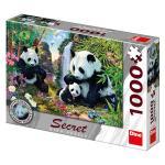 Puzzle 1000 dílků Pandy secret collection
