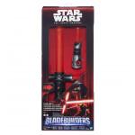 Star Wars epizoda 7 elektronický světelný meč záporného hrdiny - mix variant či barev