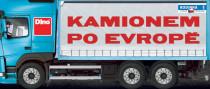 Kamiónom po Európe spoločenská hra