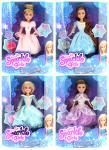 Panenka Zimní princezna deluxe set Sparkle Girlz