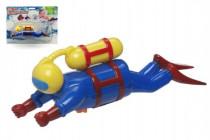 Potápěč plast 20cm na natažení