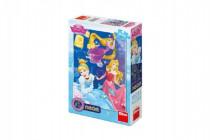 Puzzle Disney Princezné neón 100 XL dielikov