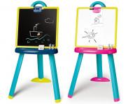 Smoby Tabuľa na kreslenie 2v1 stojacie - mix variantov či farieb