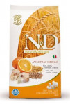 N & D Low Grain Dog Adult Codfish & Orange 2,5 kg