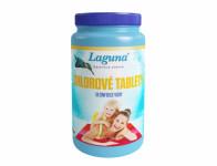 Tablety LAGUNA chlórové dezinfekčné do bazéna 1kg