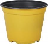 Kvetináč - kontajner Arca 14 cm - žltý