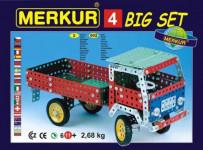 Mercury 4 kits, 602 parts, 40 models - VÝPREDAJ