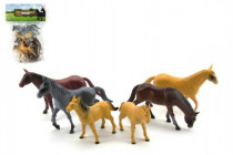 Kůň plast 13cm
