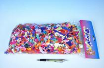 Konfety papírové 100g v sáčku karneval baleno