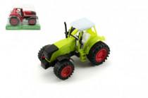 Traktor na setrvačník 16cm - mix barev