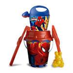Pieskový set Spiderman s kanvičkou