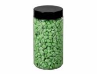 Drť BRILIANT dekoračné svetlo zelená 5-8mm 600g