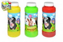 Bublifuk maxi Krtek 14cm 240ml plast - mix barev