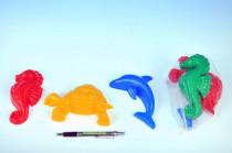 Formičky Bábovky zvieratka plast na piesok