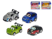 Auto sportovní kov 7cm zpětný chod - mix variant či barev