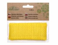 Stuha JUTA žltá šírka 5cm dĺžka 2m