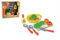 Krájecí ovoce zelenina s nádobím 20ks plast
