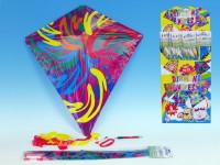 Drak létající Diamant plast 61x66cm - mix variant či barev