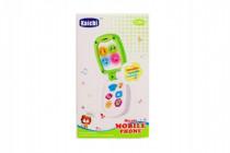 Mobil dětský plast 16cm na baterie se zvukem 12m+