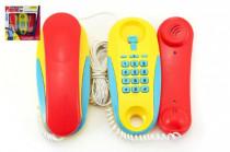 Telefony pokoj - pokoj plast na baterie 2ks vzdálenost 7m