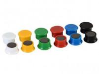 magnet 851 / 13mm (14ks) - mix farieb