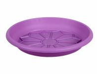 Podmiska pod kvetináč NAXOS plastová fialová d30cm